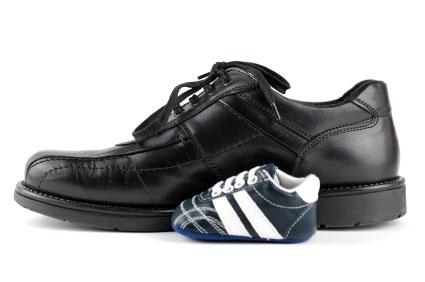 för stora skor tips